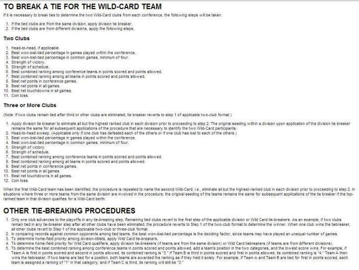 tiebreaking rules pt 2