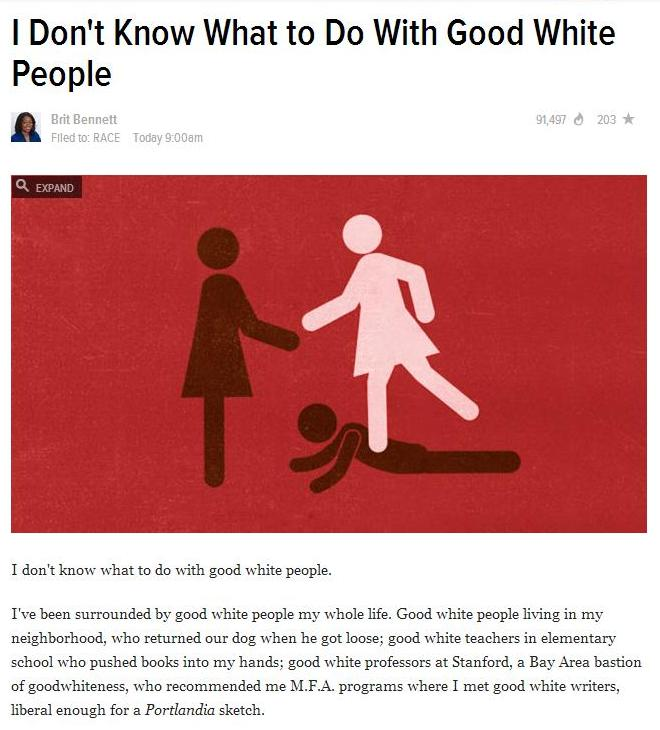 good white ppl